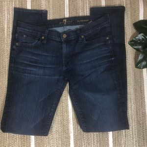 7 for all mankind skinny Roxanne jeans 30